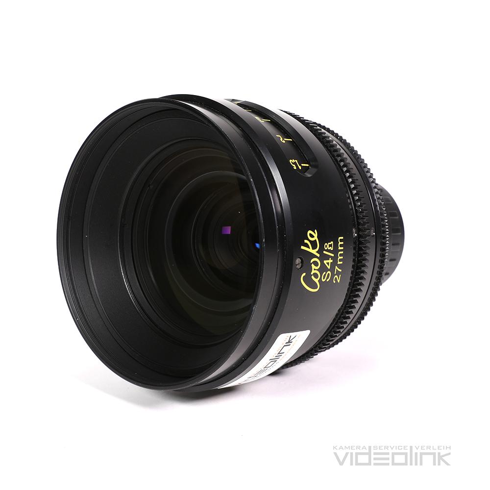 Cooke S4/i 27mm T2.0 | Videolink München