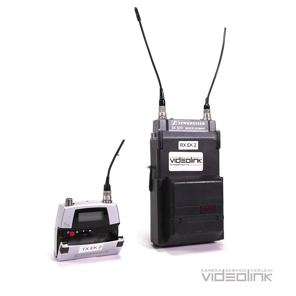 Radio set Sennheiser SK 5212, EK 3241 | Videolink Munich
