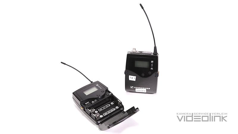 Funkset Sennheiser SK/EK 2000 + Lavalier Mikrofon | Videolink München
