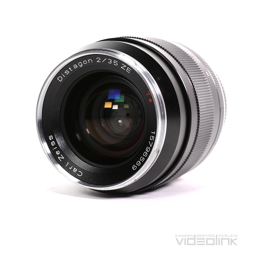 Zeiss ZE Distagon 35mm T2.0 | Videolink München