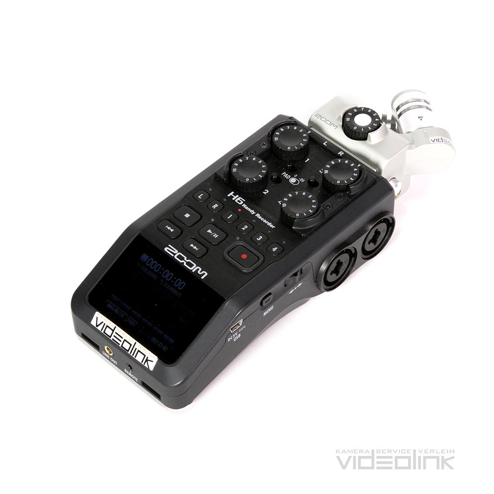 Zoom H6 | Videolink Munich