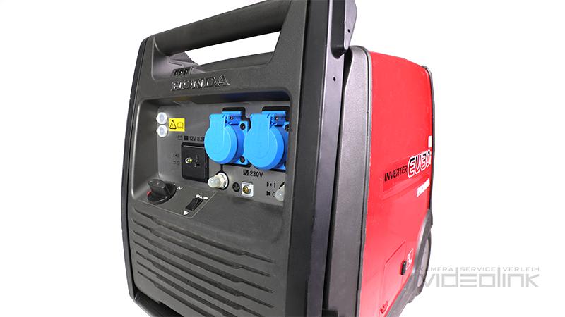 Honda EU30i Generator 2,8kW | Videolink München