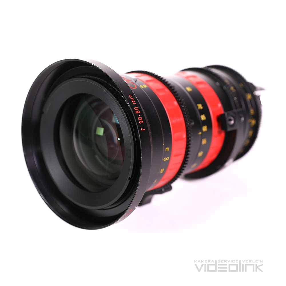 Angenieux Optimo Rouge 30-80mm T2.8 | Videolink München