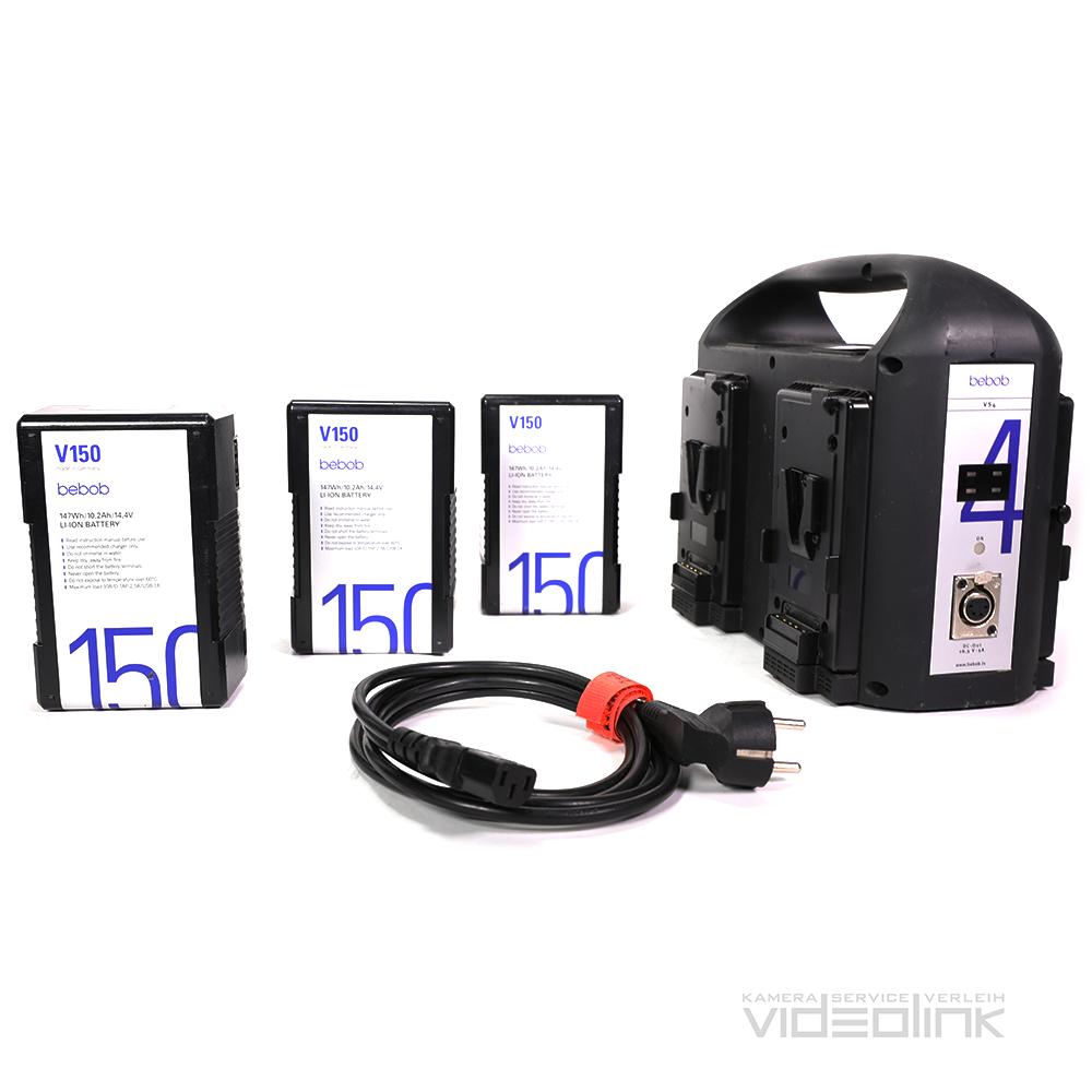 Bebob 150Wh V-Mount | Videolink München