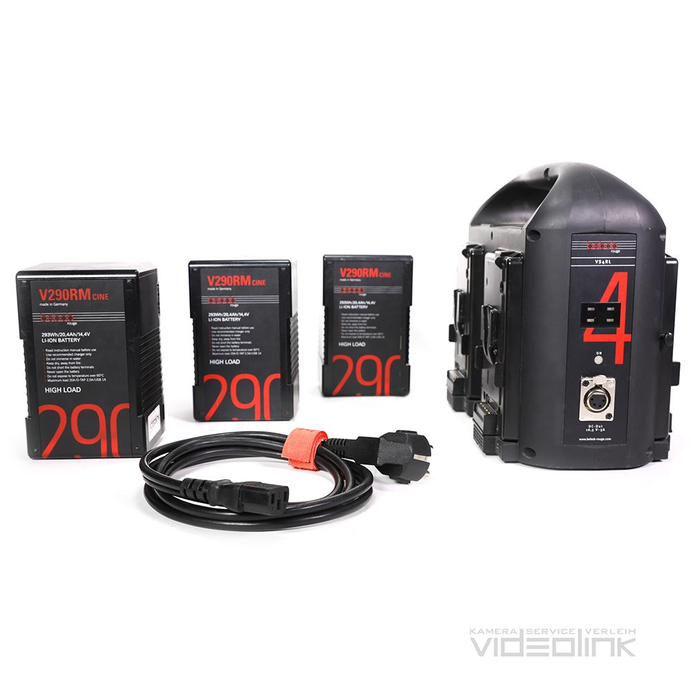 Bebob 290Wh V-Mount | Videolink Munich