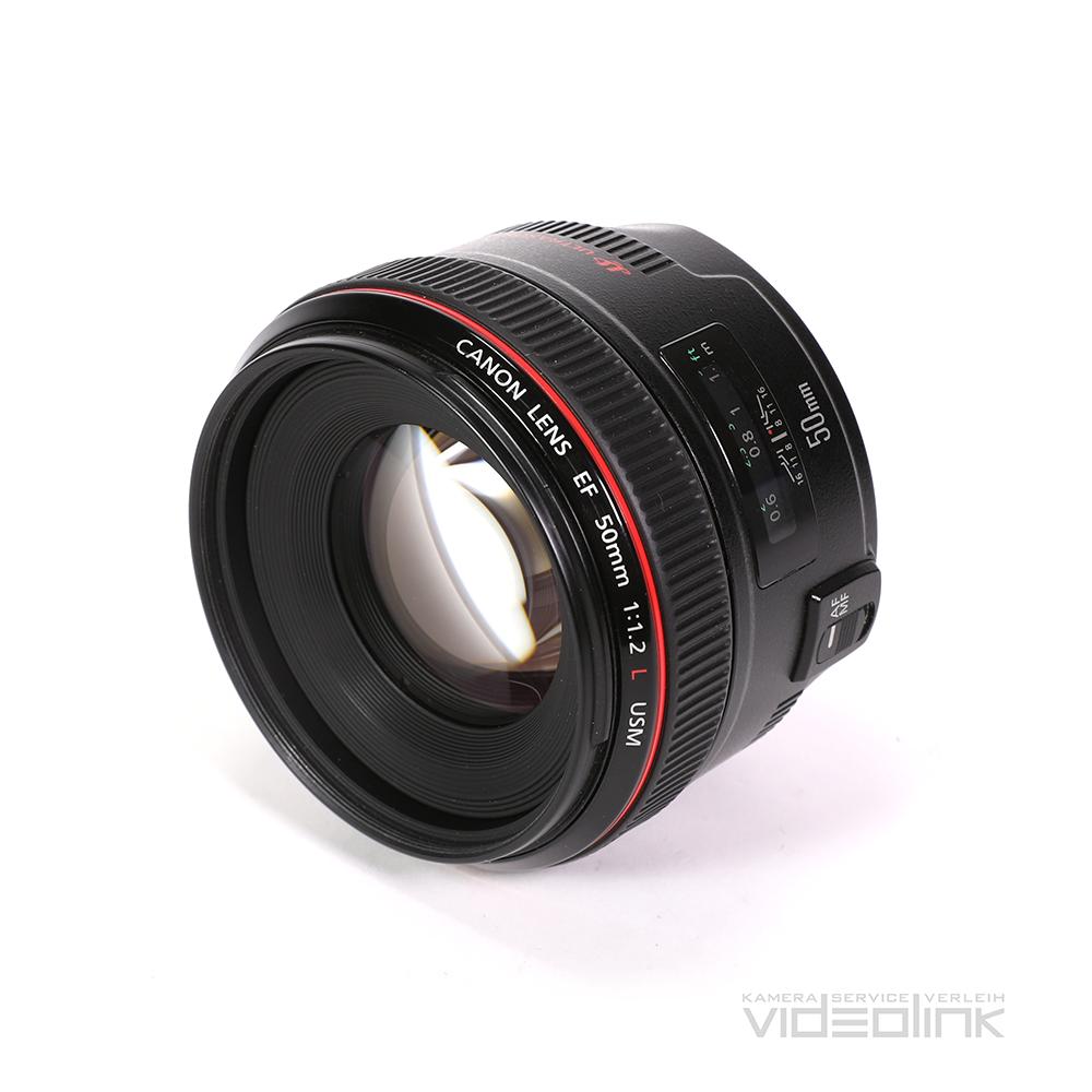 Canon EF 50mm F1.2 | Videolink München