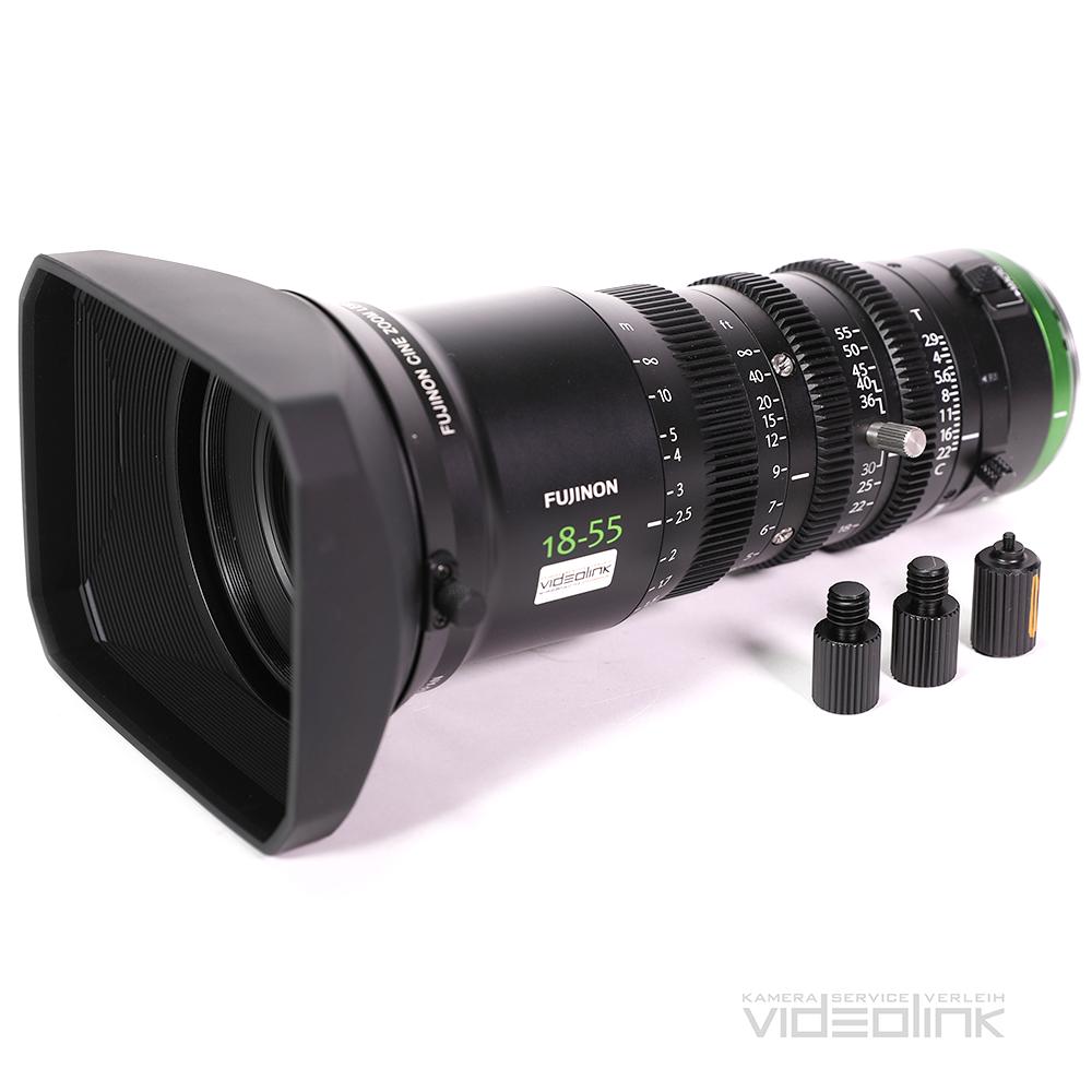 Fujinon Cine Zoom 18-55mm T2.9 | Videolink München