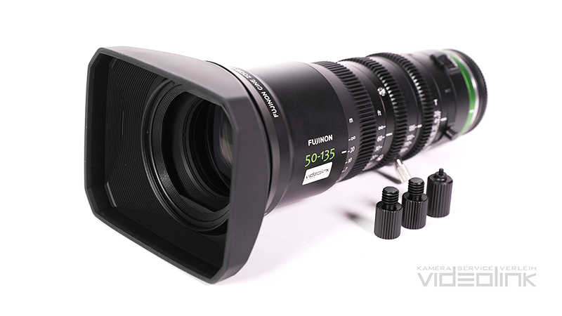 Fujinon Cine Zoom 50-135mm T2.9 | Videolink München
