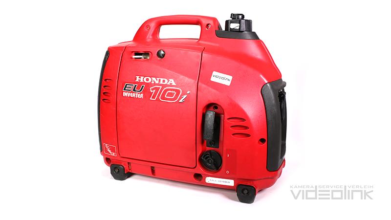 Honda EU10i Generator 1kW | Videolink Munich