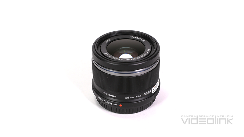 Olympus Digital MFT 25mm F1.8 | Videolink München