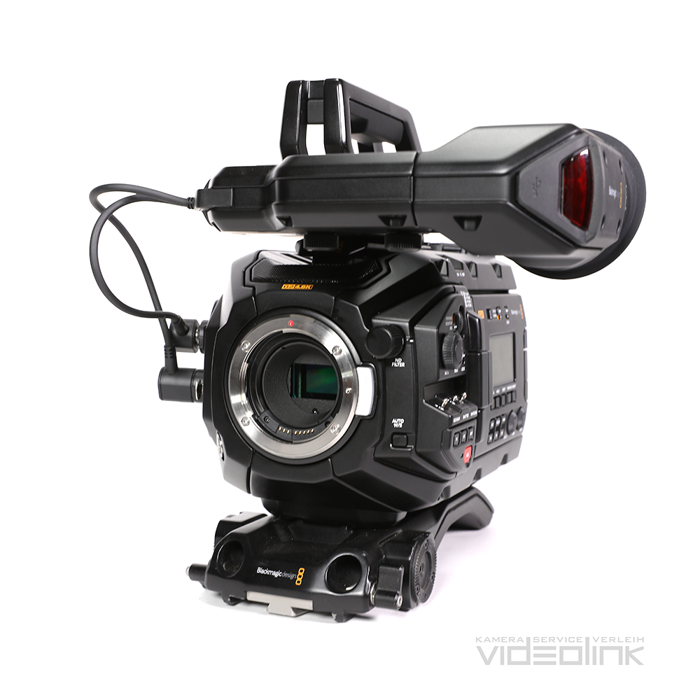 Blackmagic URSA Mini Pro 4,6K G2 | Videolink Munich