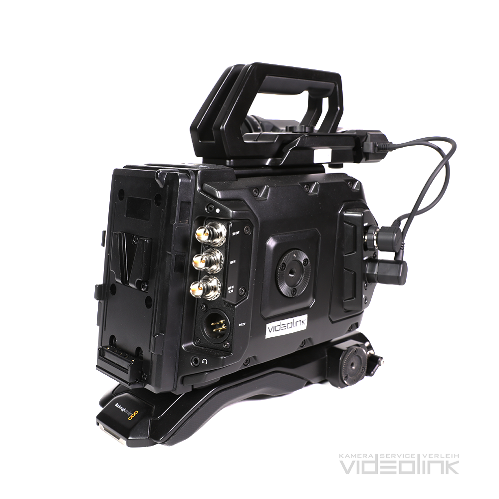Blackmagic URSA Mini Pro 4,6K G2 | Videolink München