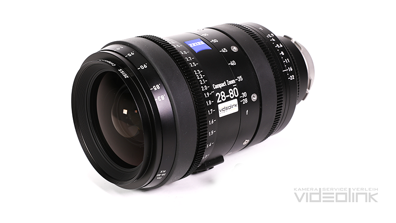 Zeiss Compact Zoom CZ.2 28-80mm T2.9 | Videolink München