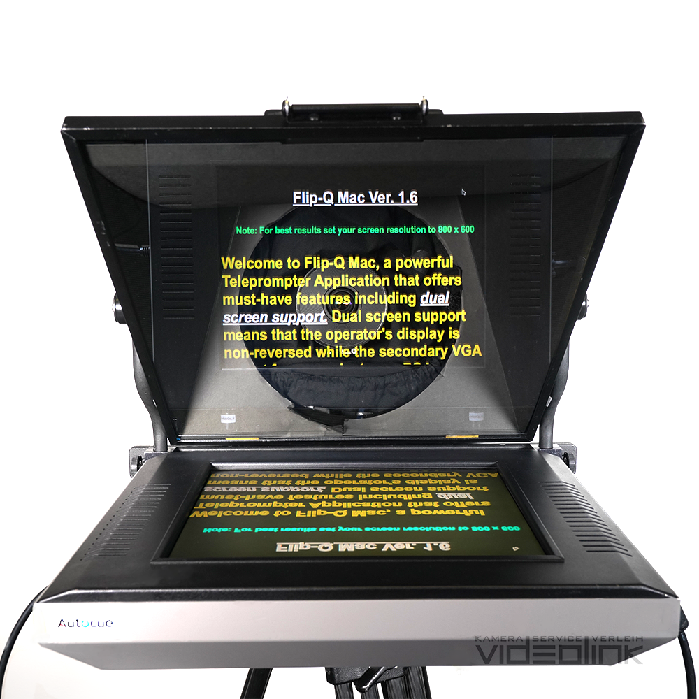 Autocue Teleprompter 15″ | Videolink München